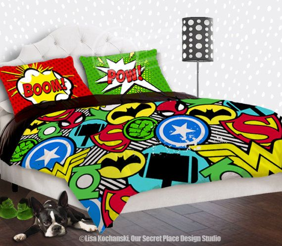 Boys Superhero Bedroom Ideas superhero bedding for boys bedding twin superhero duvet boys