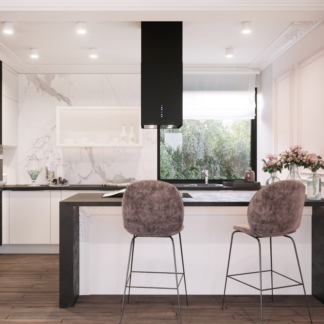 Okap Wyspowy Quadro Black Nortberg Home Decor Home Decor