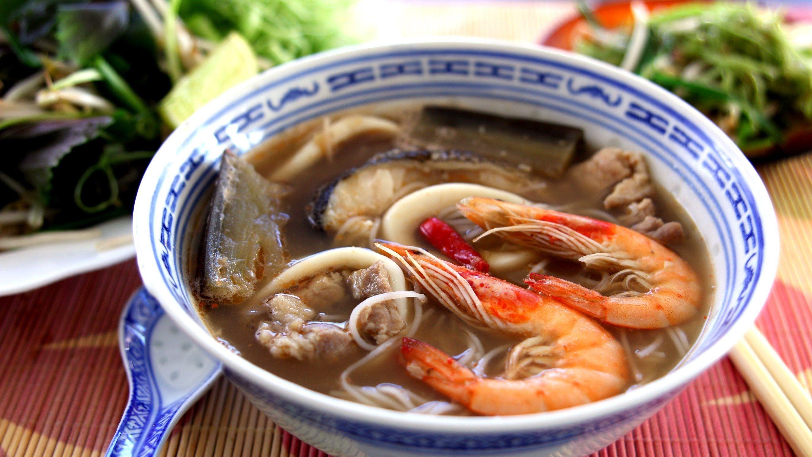 Bun Mam - Vietnamese Seafood Gumbo Recipe | FOOD - I left ...