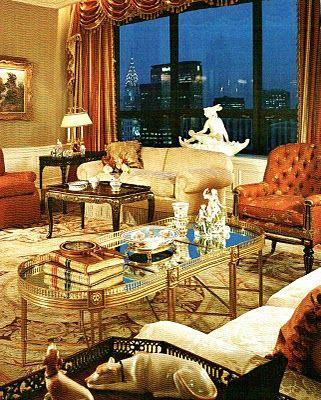 Manhattan Penthouse by McMillen Interior Design Decoration Image