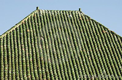 Image Result For Ceramic In Architecture Green Tile Spanish Tile Roof Roof