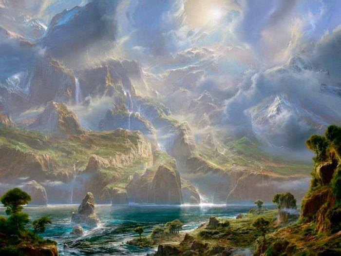 Фантастические горные ландшафты от Dale Terbush, США. Обсуждение на LiveInternet - Российский Сервис Онлайн-Дневников