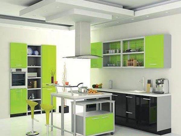 остров-обеденная зона | Кухня, Интерьер, Цвета кухонных стен