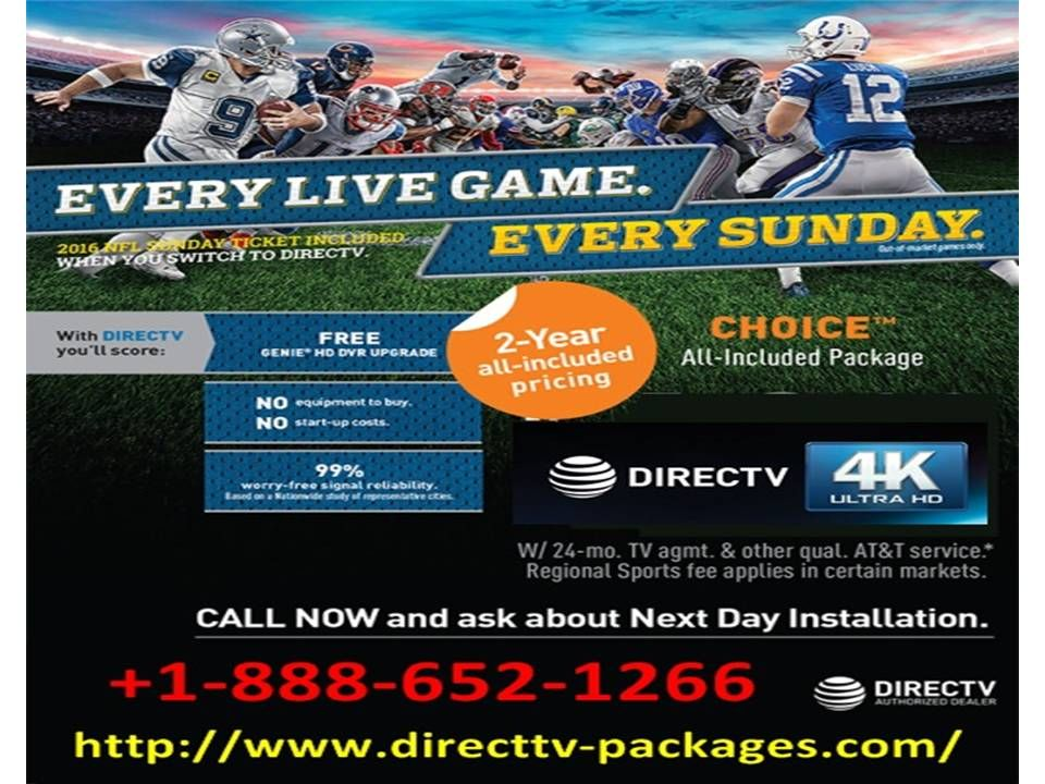 Enjoying superior service with Direct Tv Specials 1888