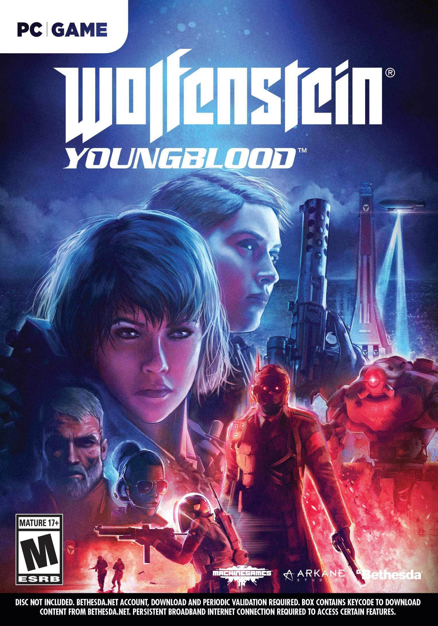 Wolfenstein Youngblood Wolfenstein, Xbox one, Nintendo