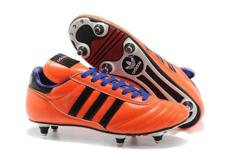 Mens Adidas Copa Mundial Firm Ground Orange Purple Football Boot Clearance Sale