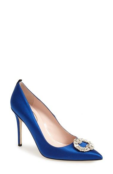 Sjp By Sarah Jessica Parker Maddalena Pointy Toe Pump Women Nordstrom Exclusive Nordstrom Manolo Blahnik Heels Pointy Toe Pumps Sarah Jessica Parker Shoes