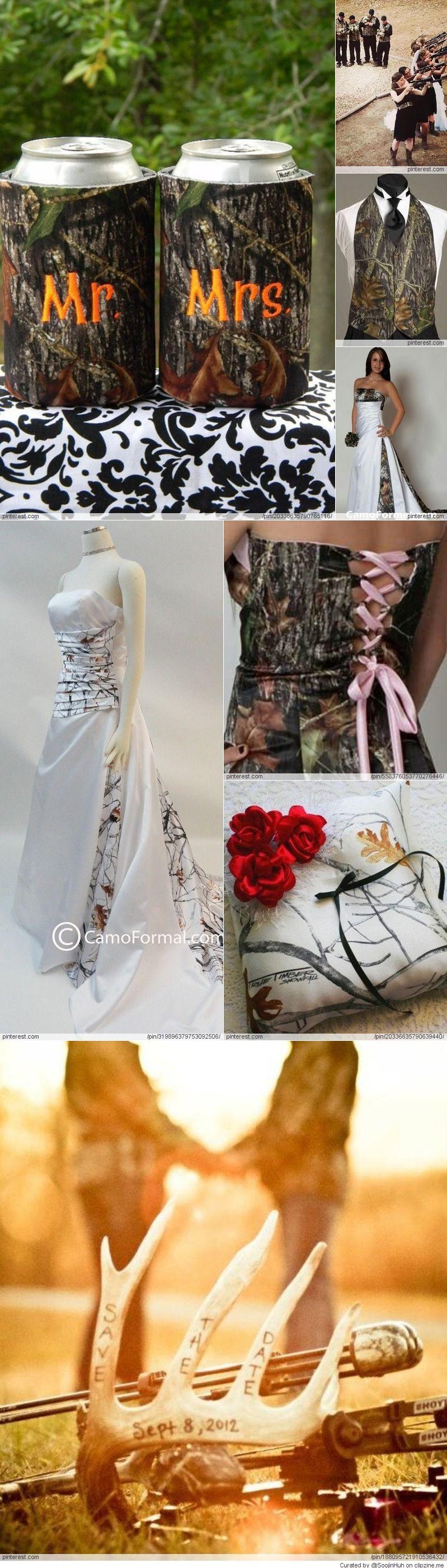 Camo wedding ideas wedding pinterest camo wedding camo and