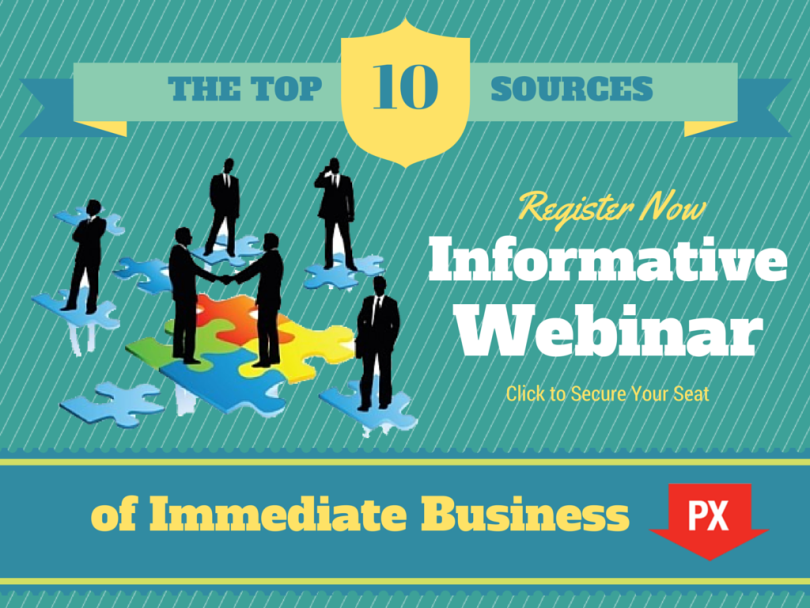 Check out this On-Demand Webinar Replay: Top 10 Sources of Immediate Business for Real Estate Agents