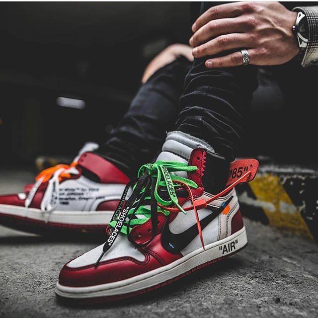 a851a68ab665dc Off White x Nike Air Jordan 1