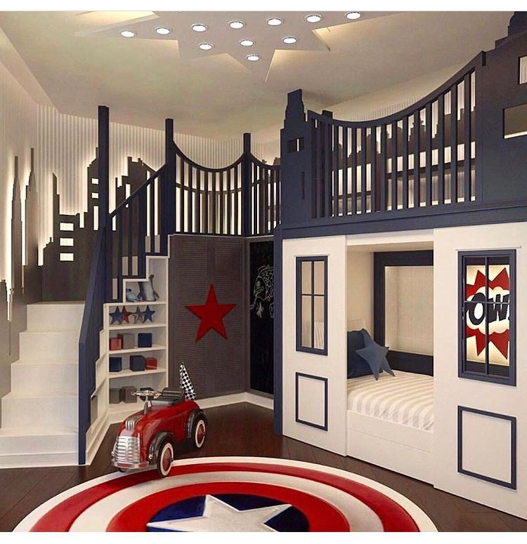 Such a cool space! . . . . . . . . . . . . . . . . . . #homedecor #kidsroomsdeco...