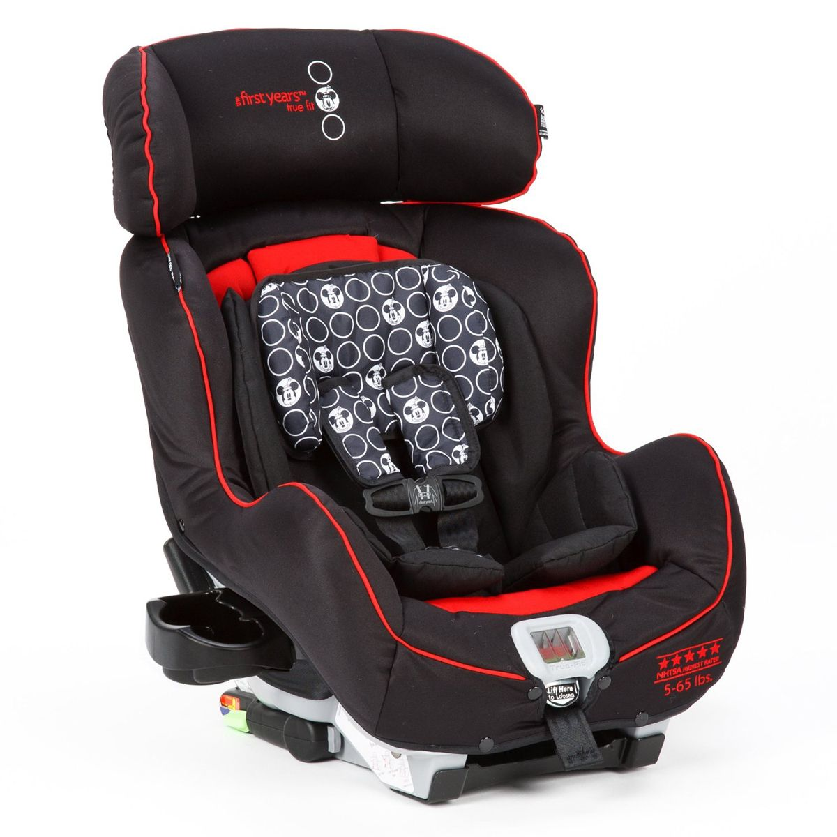 MINNIE MOUSE True Fit Convertible Car Seat From The First Years