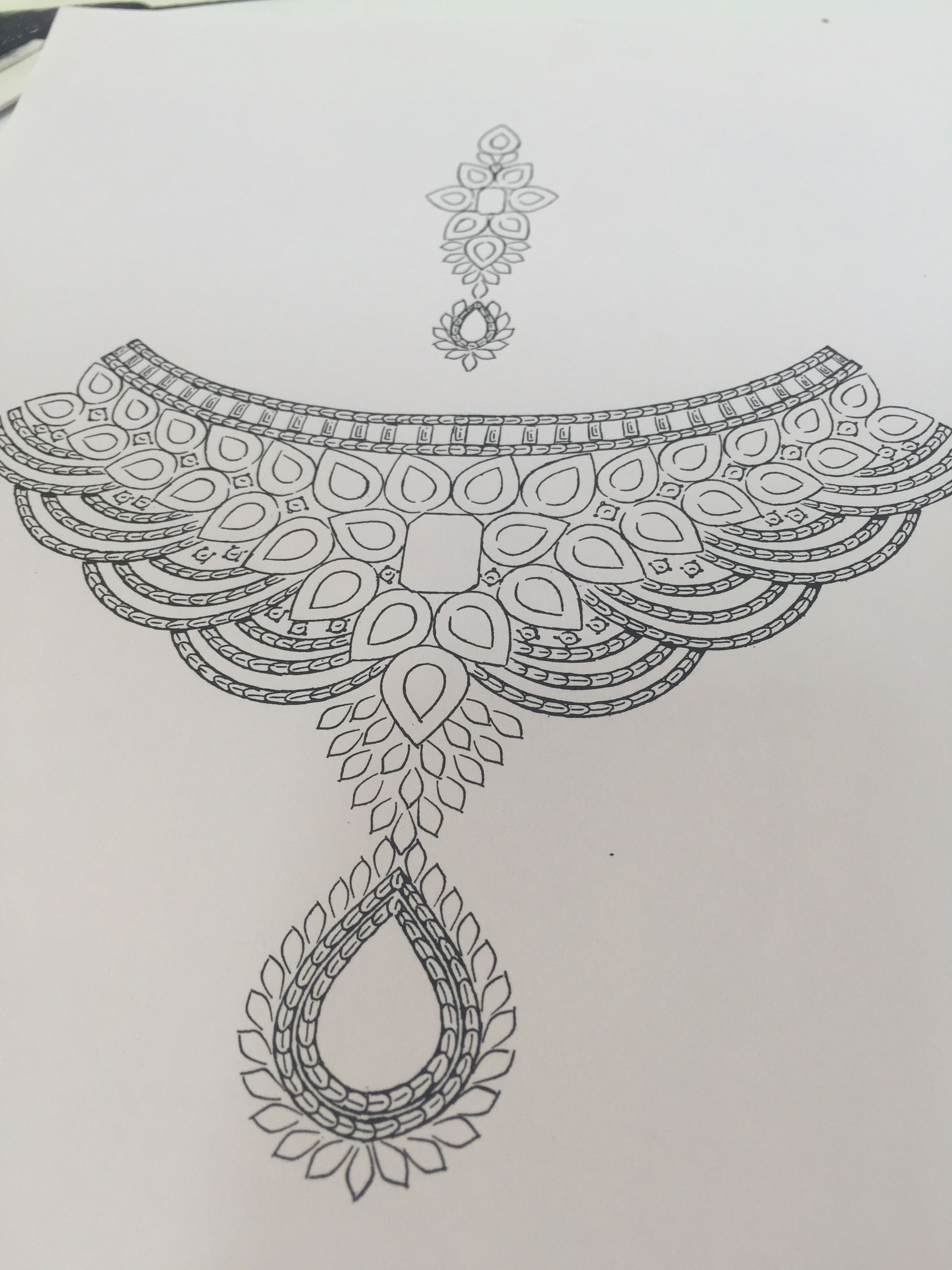 Jewelry drawing jewellery sketches aari embroidery embroidery designs pencil design sketch