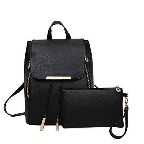 Canvas Damen Rucksack Mädchen Schultasche Schultertasche Reisetaschen Tasche Neu
