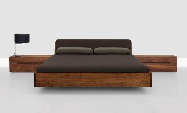 Fusion Solid Wood Bed By Zeitraum Wooden Bed Design Bed Design Platform Bed Designs