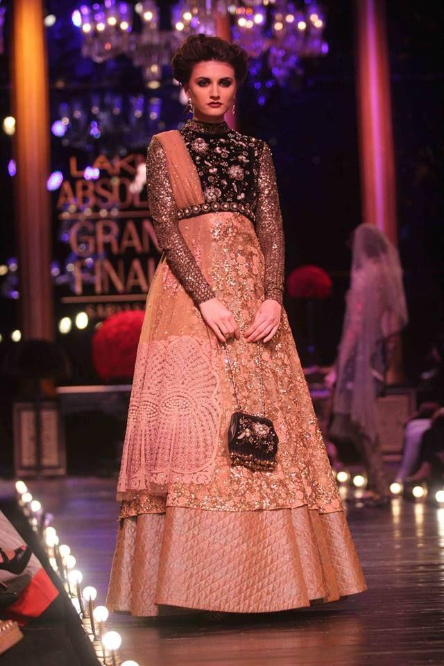 sabyasachi mukherjee lfw 2013 evening and bridal gowns
