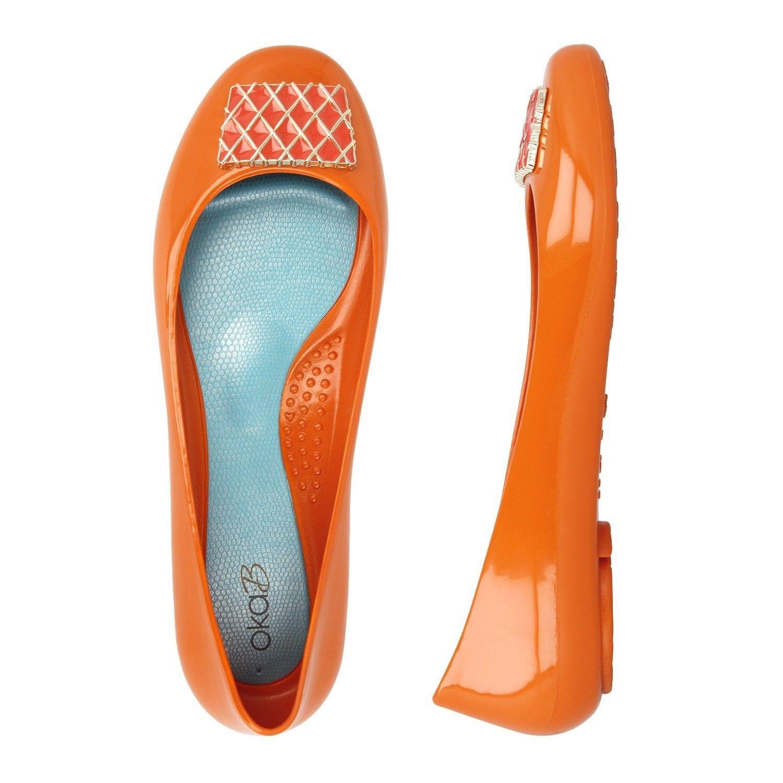 7fc95fa22 Lacey Slip On Closed Dress Shoe Color Mandarin - C312MB8KQ3B ...