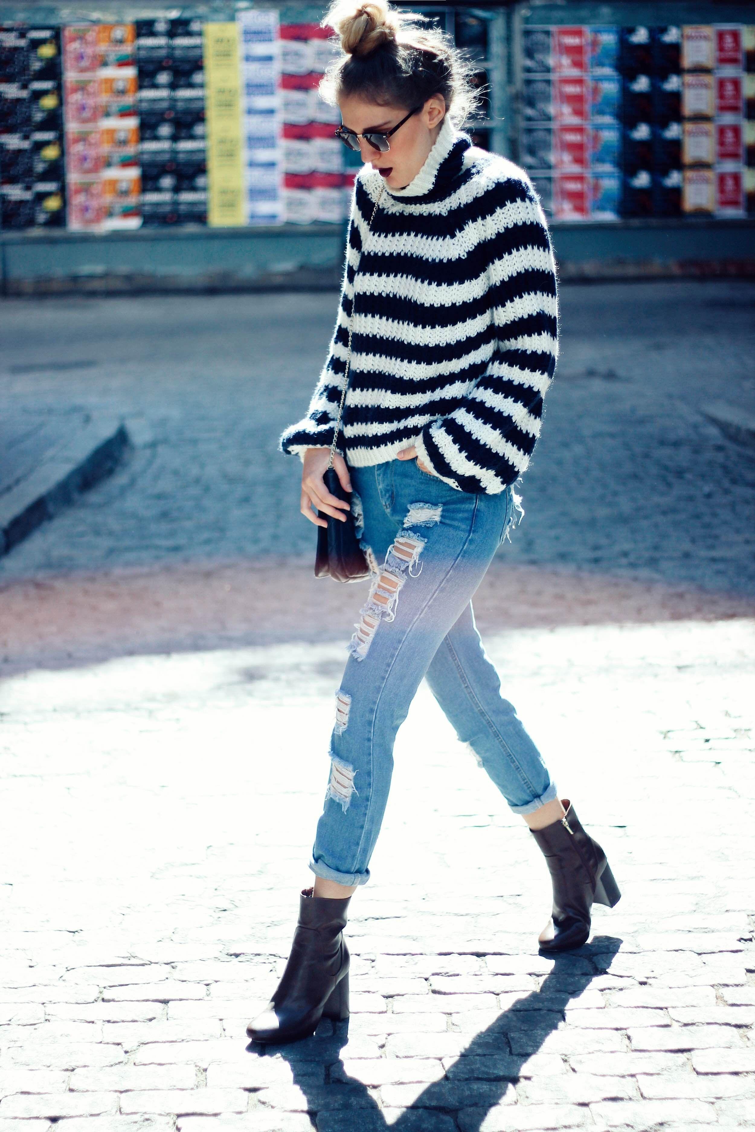 Blue stripes | DearDiary-fashion