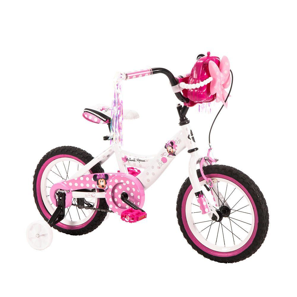 ffb6658f6 14 Inch Disney Minnie Mouse Bike Bicycle with Training Wheels ...
