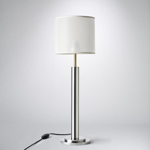 Classic A Table Lamp With A White Shade Or Bronze All But A