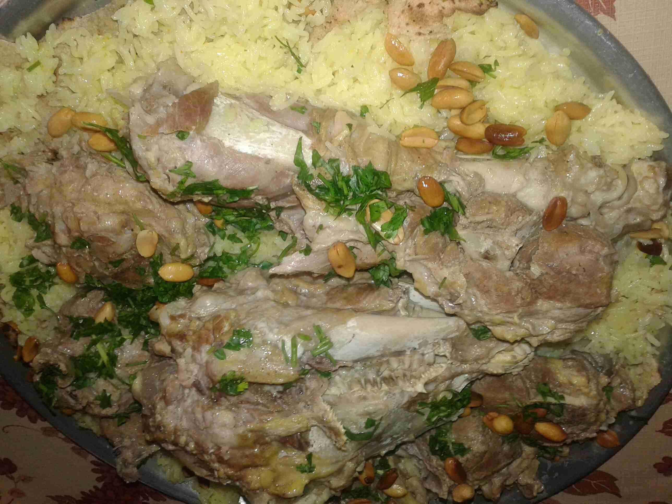 المنسف الاردني ملكة الأكلات الاردنية زاكي Recipe Main Dishes Cooking Arabic Food