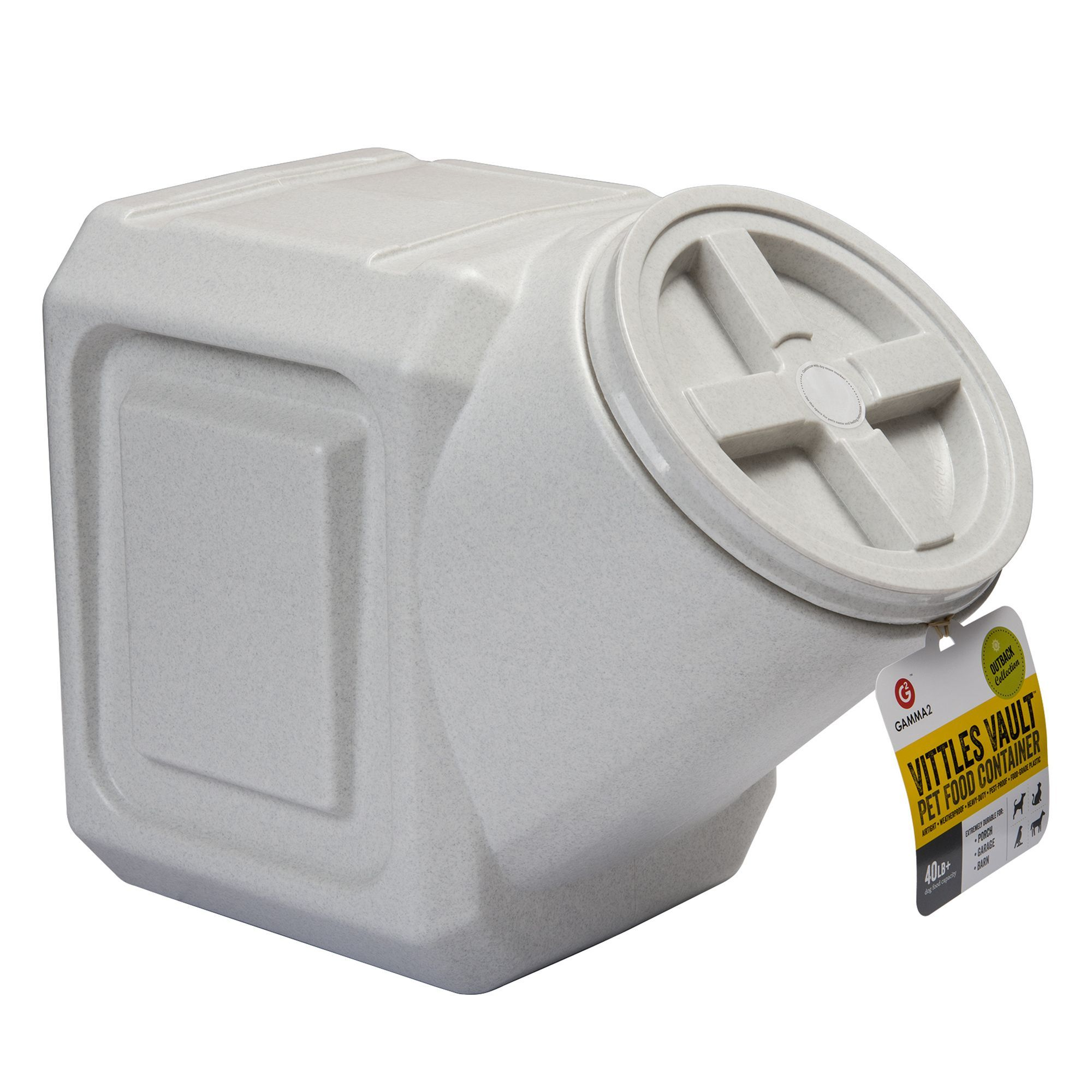 Vittles Vault By Gamma2 Outback Stackable Pet Food Container Size