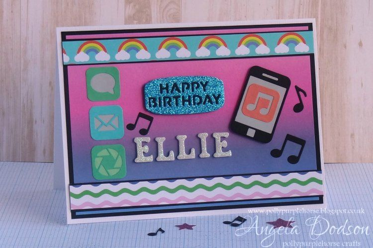 Modern Birthday Card Simply Creative Play Days Papers First