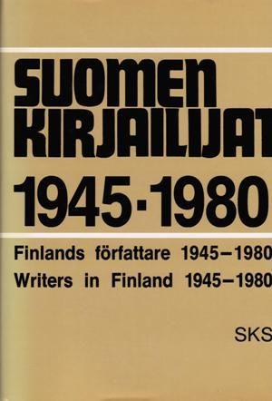 Suomen kirjailijat 1945-1980 - 9789517173483 - SKS