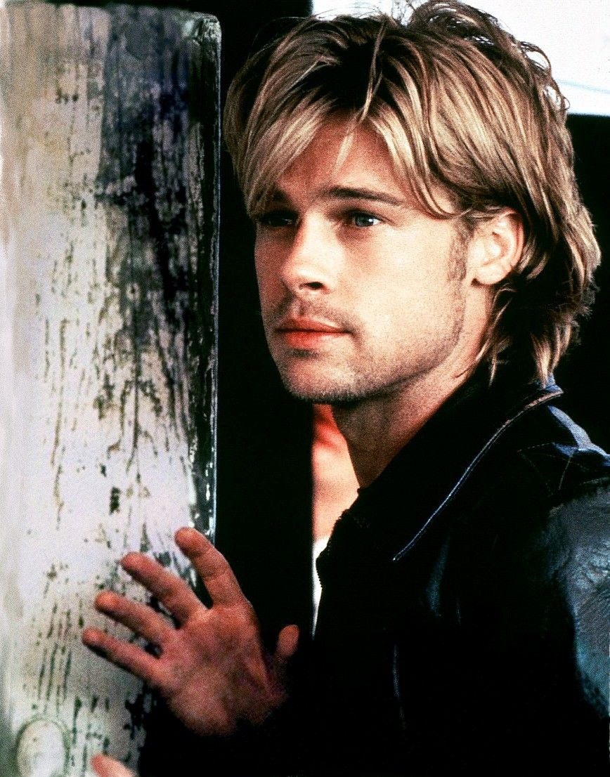 hollywood actors | cool brad pitt hairstyle. | hollywood