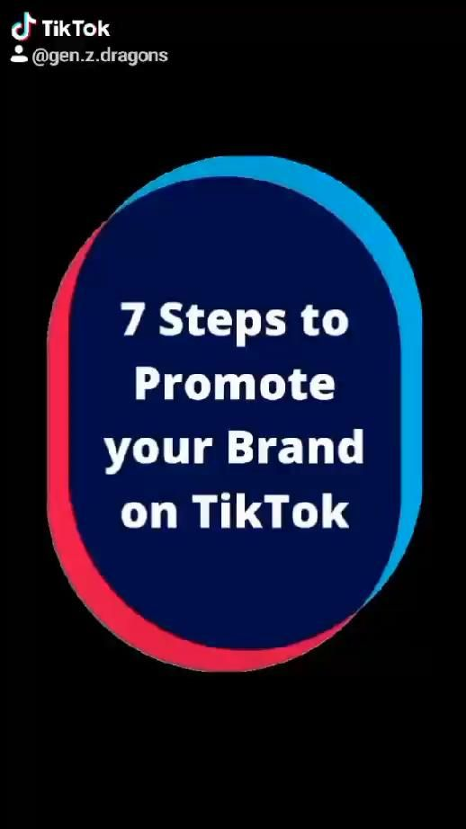 7 Steps To Promote Your Brand On Tiktok Video North Face Logo The North Face Logo The North Face