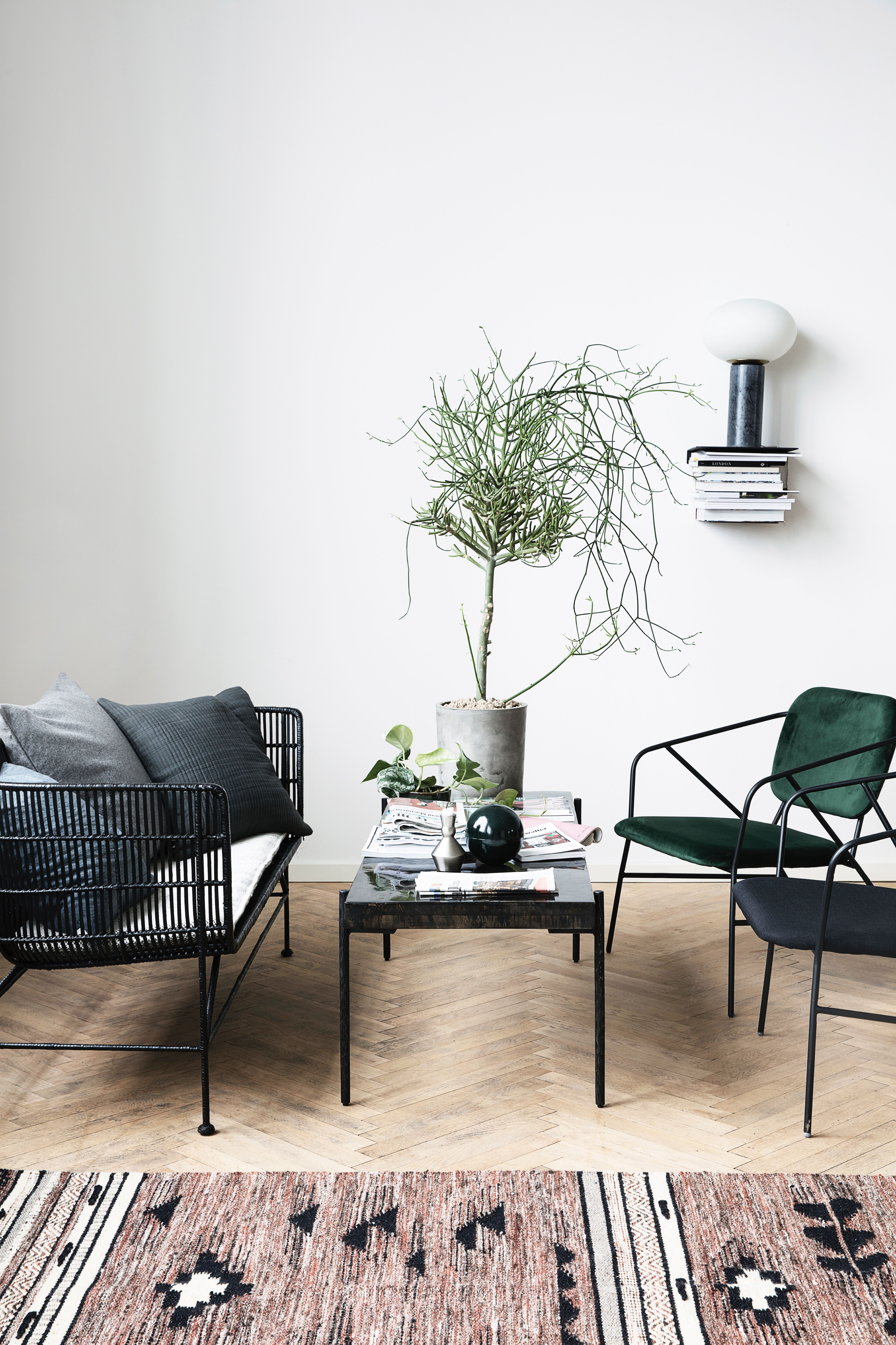 2 Rotan Fauteuils.Perfect Setting For A Cosy Reading Corner