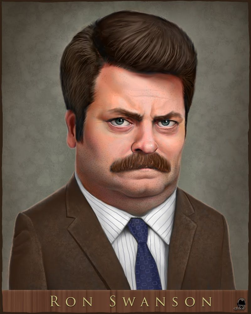 The Man To Make All Men Weep Man Stuff Ron Swanson Beer Humor