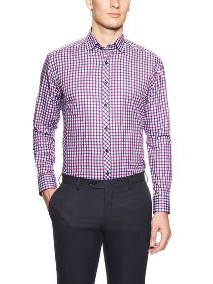 Fort Lauderdale Check Sport Shirt by Stone Rose on Gilt.com