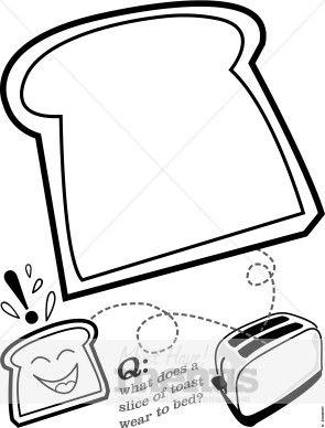 Cartoon Toasted Bread Toast Holiday Images