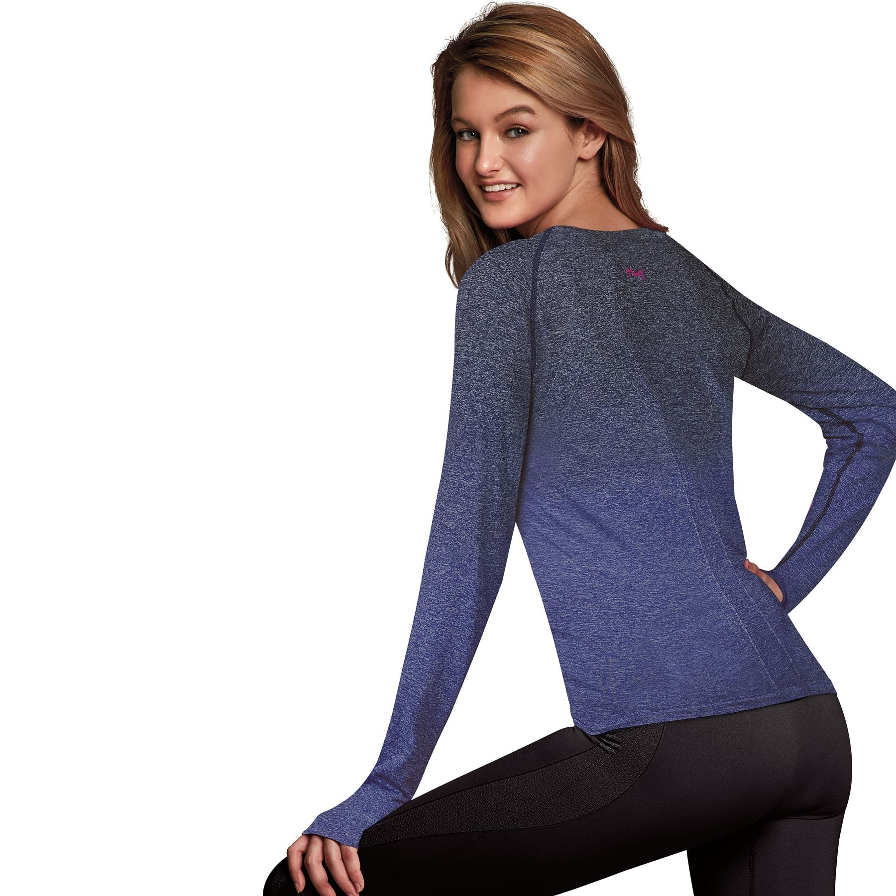 a88f85a6554ab0 Women's Maidenform Sport Base Layer Seamless Long Sleeve Top #Sport, #Base,  #Women, #Maidenform