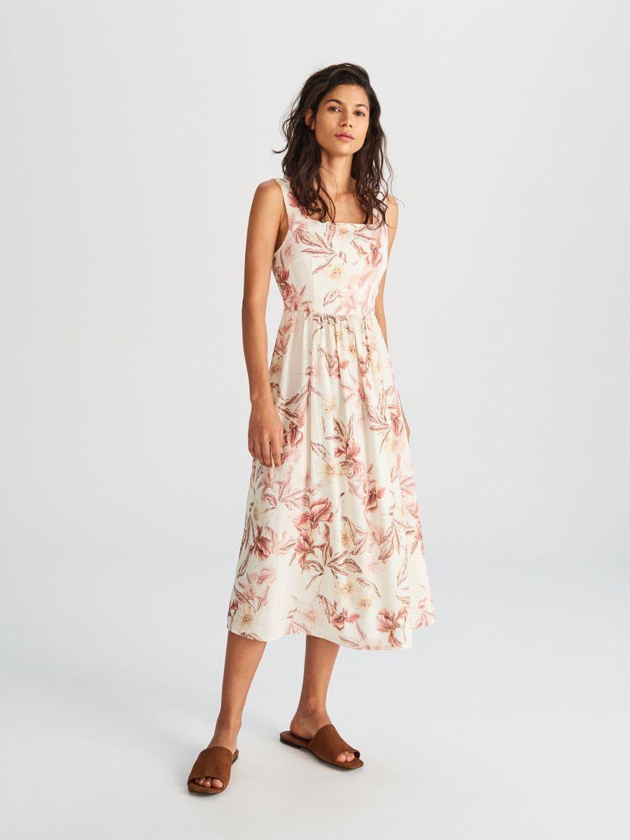 Vasarolj Online Noi Ruha Reserved Wr837 Mlc Womens Dresses Dresses Floral Dress