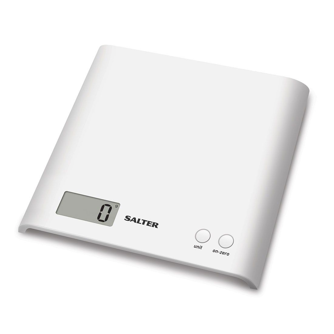 Salter ARC Electronic Digital Kitchen Scales - White | Kitchen ...