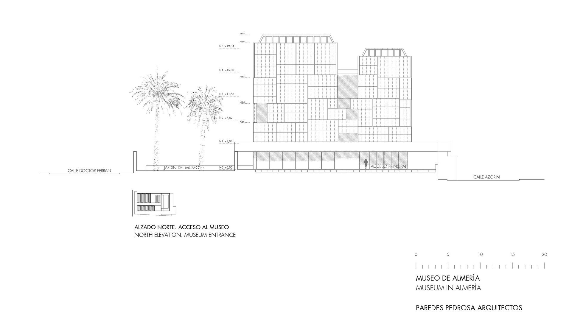 Paredes Pedrosa Arquitectos - Project - Archaeology Museum in ...