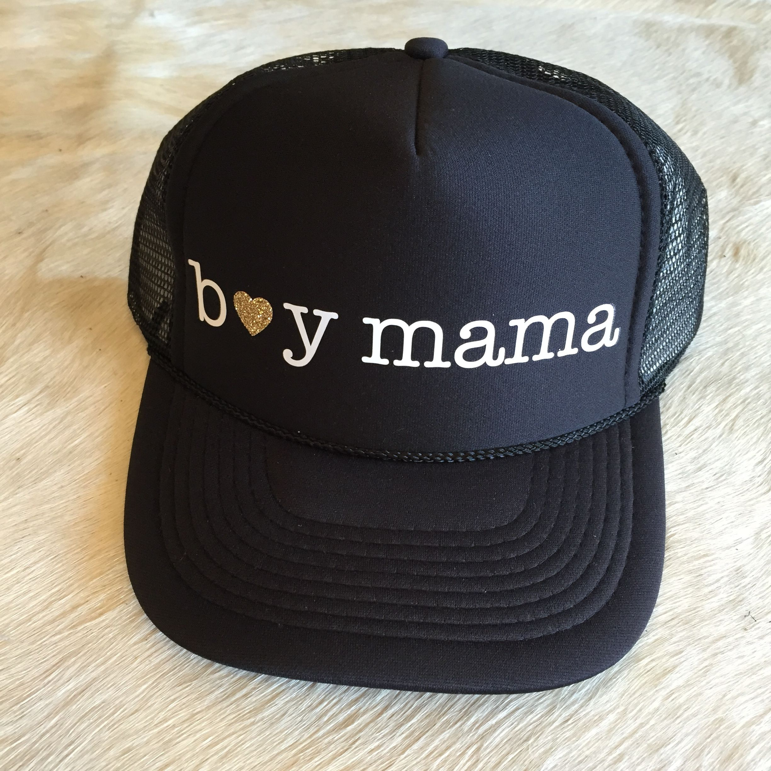 30b64305ad3 Mother Trucker - Boy Mama Hat — Pink Laundry Boutique Mom And Son Outfits