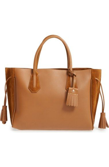 5d0a6fa42b Longchamp 'Medium Penelope Fantasie' Leather Tote available at #Nordstrom