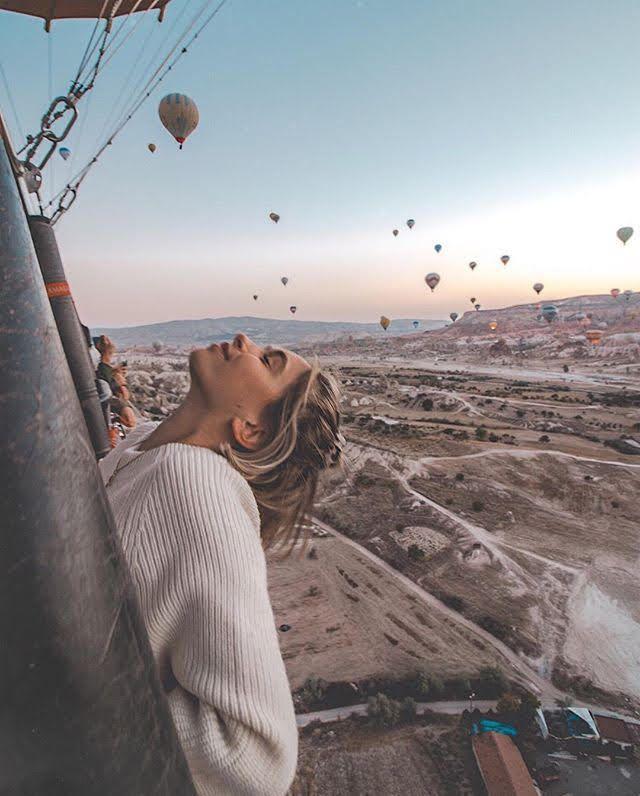 Cappadocia Hot Air Balloon Ride. (Cappadocia, Turkey)
