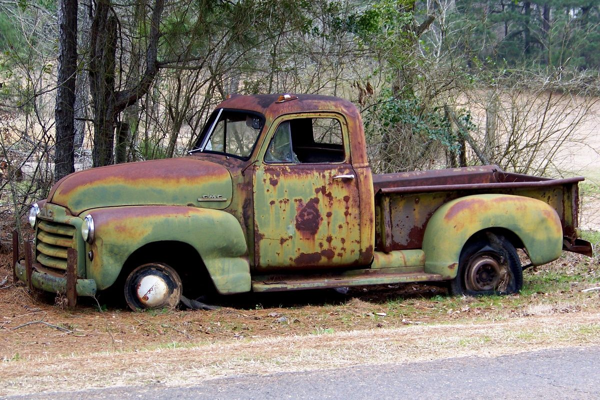 Pin by GailandDonald Dubose on Cars   Pinterest   Abandoned cars ...