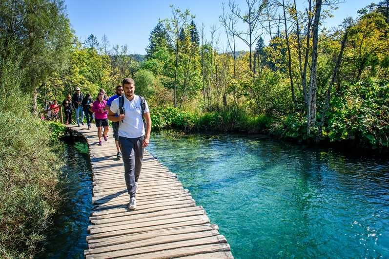 From Split Or Trogir Zagreb Transfer Plitvice Lakes Tour Plitvice Lakes National Park Tours Small Group Tours