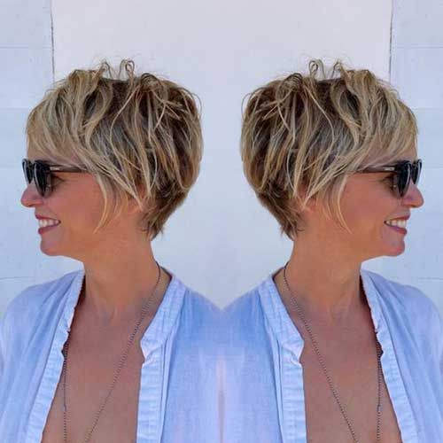 2017 Best Short Haircuts For Older Women