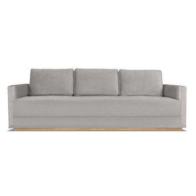 Wrought Studio Nikhil Sofa Velvet Sofa Sofa Sofa