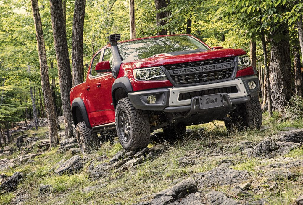Chevrolet Colorado Zr2 Bison To Start At 48 045 Pikap Avtomobili