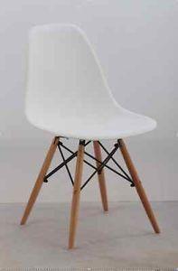 Chaise White Eames Style Chairs Vintage Modern Chaises Eiffel
