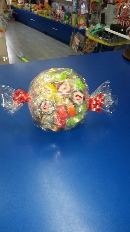 En ciudad Real tienen un super carmelo relleno de más caramelos!!