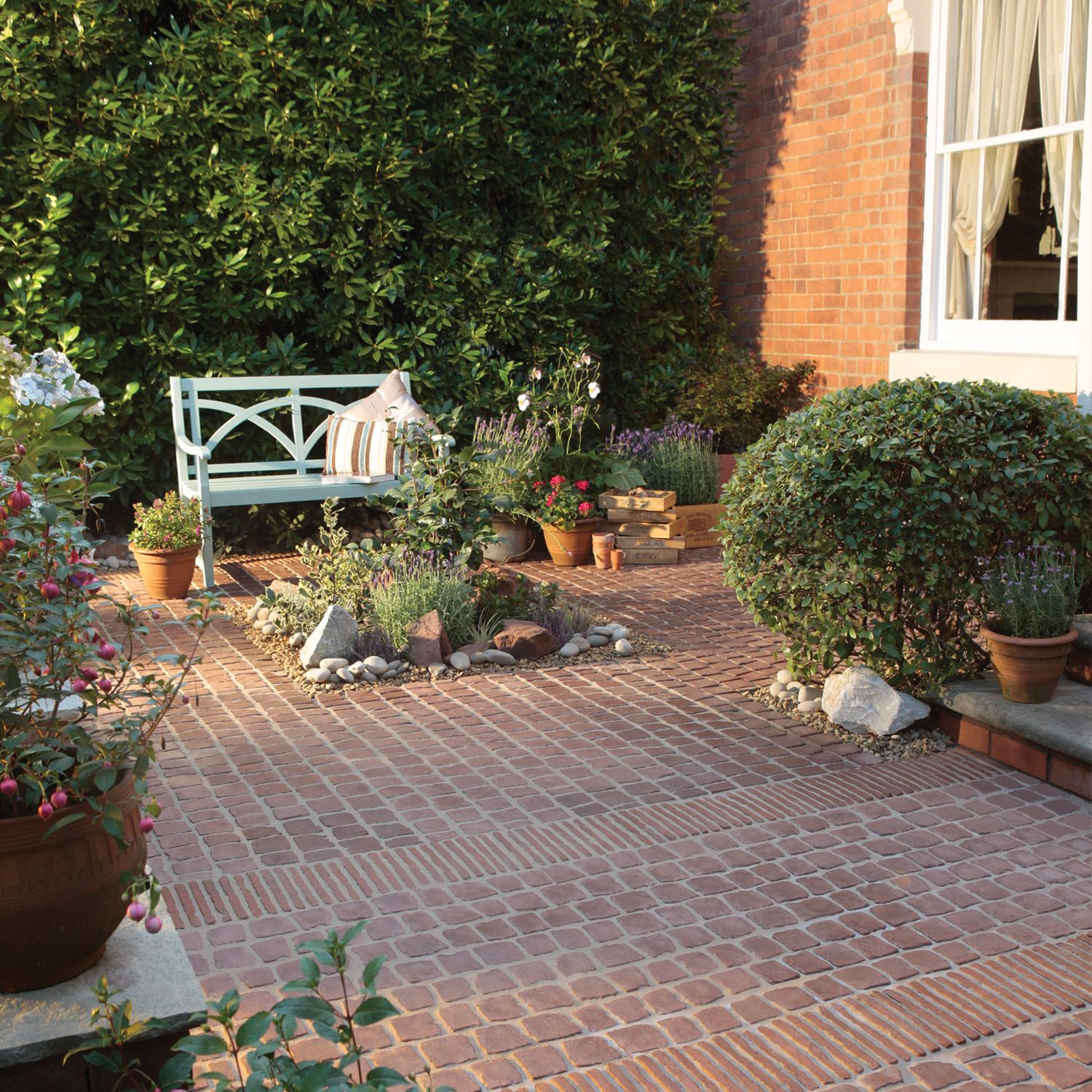 carpet patio paving stones