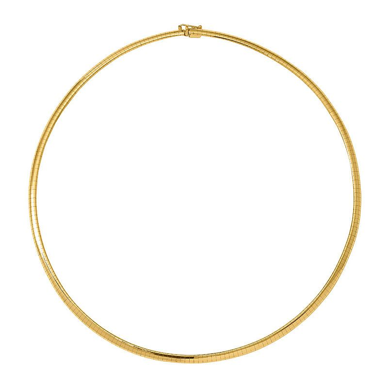 a01f80343dfa7 14K Gold Choker • Byzantine Chain Necklace in Almost 1/2 ozt. 14K ...